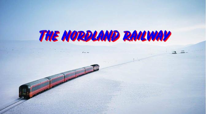 Train Travel: 'Nordland Line' Between Trondheim & Bodø, Norway (Video)