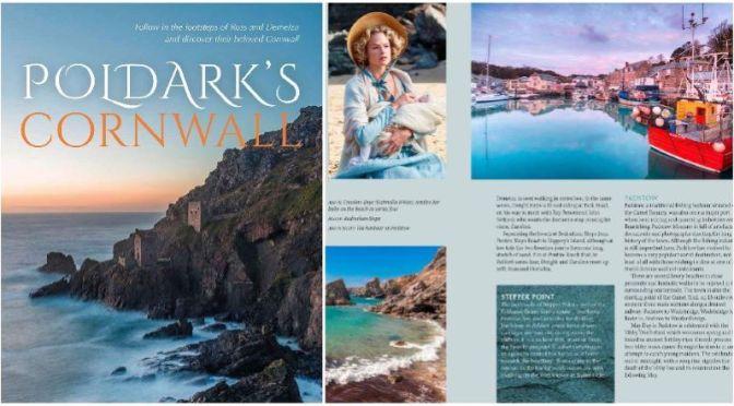 """New Travel & Film Books: """"Poldark's Cornwall"""" By Gill Knappett (Jan 2021)"""