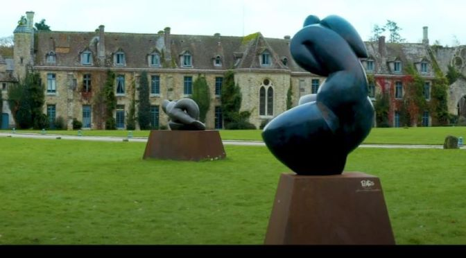 Top Exhibitions: 'Pollès – Monumental Sculptures', Abbaye des Vaux de Cernay, France (Cinematic Video)