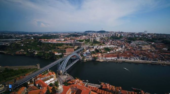 New Aerial Travel Video: 'Porto, Portugal' (2020)