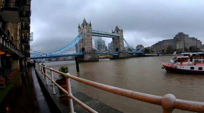 New Walking Tour Videos: 'London Tower Bridge'