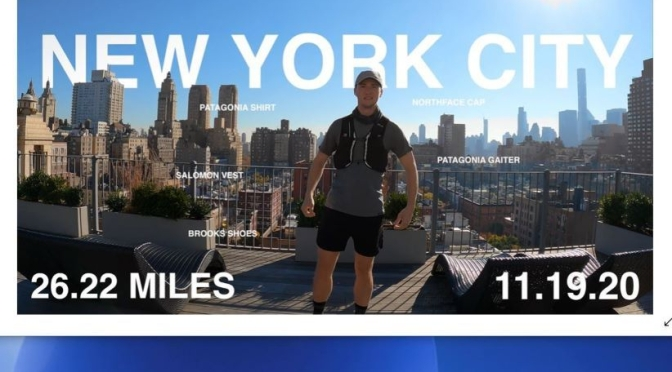 Running Tour Video: '26 Miles In New York City'