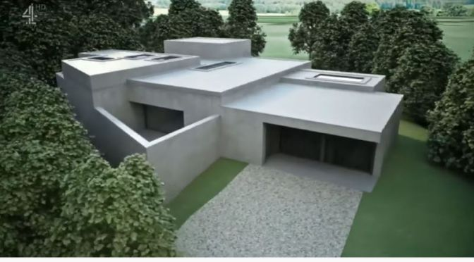 Innovative Architecture: 'Single-Story' High-Tech Concrete Home In East Sussex, England (Video)