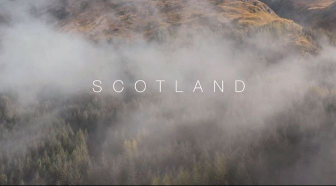 New Aerial Travel Videos: Scotland,  UK (2020)