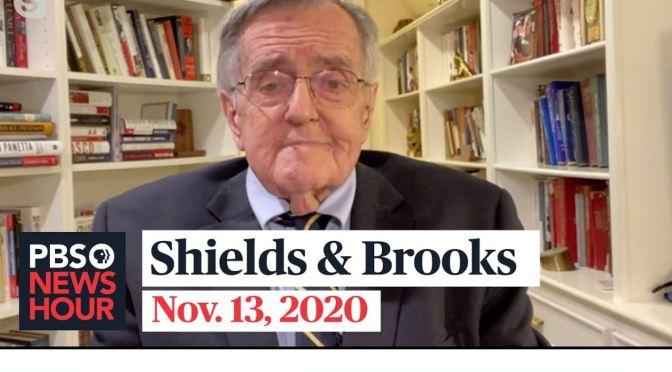 Political News: 'Shields & Brooks' On Biden Win (PBS)