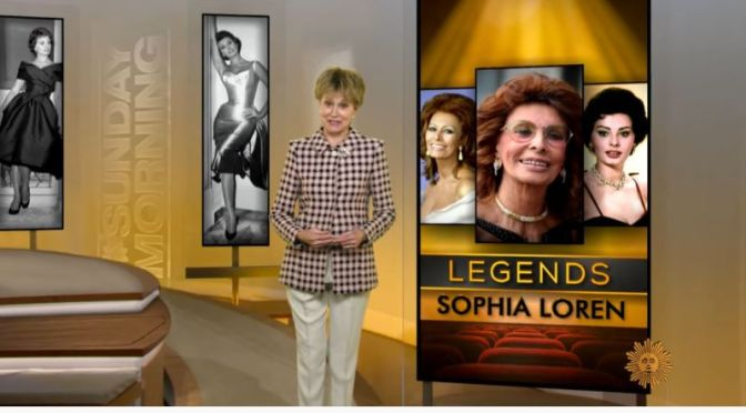 Video Profiles: 86-Year Old Actress Sophia Loren (CBS)