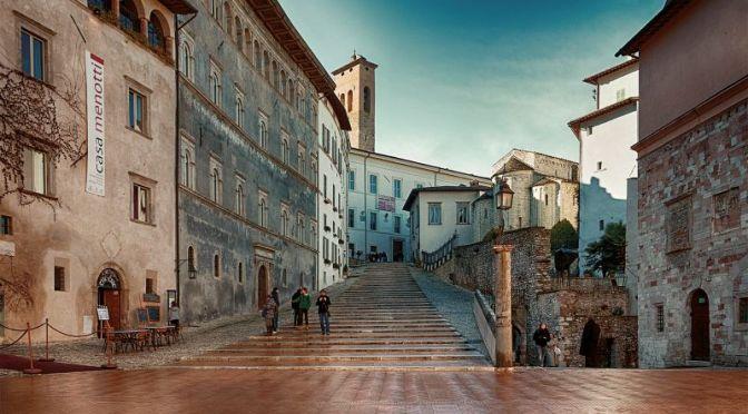 Walking Tours: Spoleto, Umbria, Italy (Video)