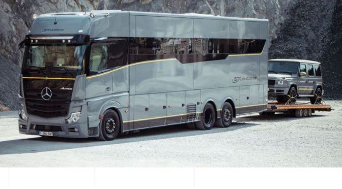 "Top New Motorhomes: 'STX Eila Edition One' – ""5 Star Hotel On Wheels"" (Video)"