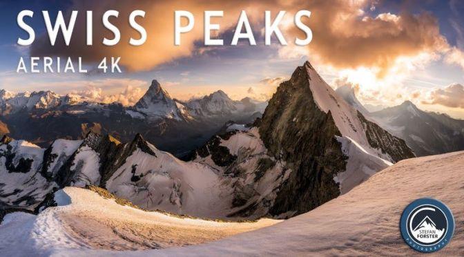 Aerial Travel Video: 'Alpine Peaks In Switzerland'