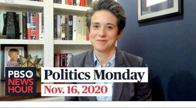 Politics Monday: Tamara Keith And Amy Walter On Presidential Transition