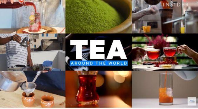 Food & Beverage: 'How Tea Is Enjoyed Around World'