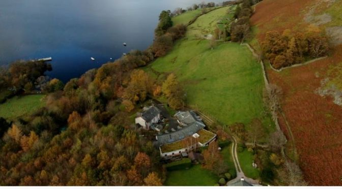 Aerial Videos: Howtown Ullswater, Cumbria, UK