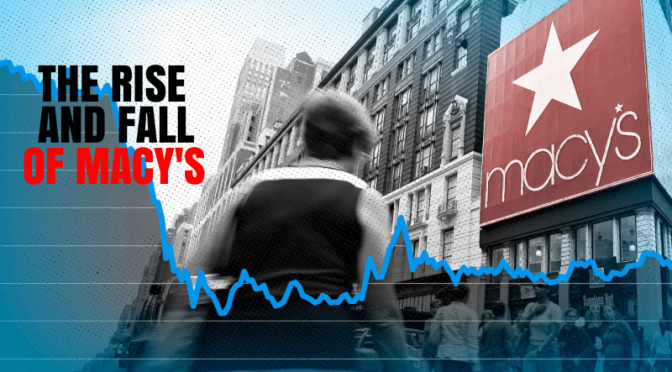 Retail Stores: 'The Rise And Fall Of Macy's' (WSJ Video)