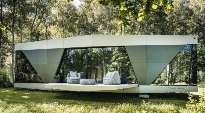 Future Housing: 'iOhouse – The Space' Is A Fully Off-Grid, Prefab Smart Home