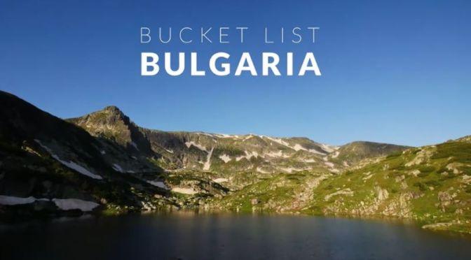 Tilt-Shift Travel: Bulgaria In Eastern Europe (Video)