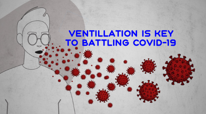 Covid-19: 'Ventilation Key To Limiting Spread' (Video)