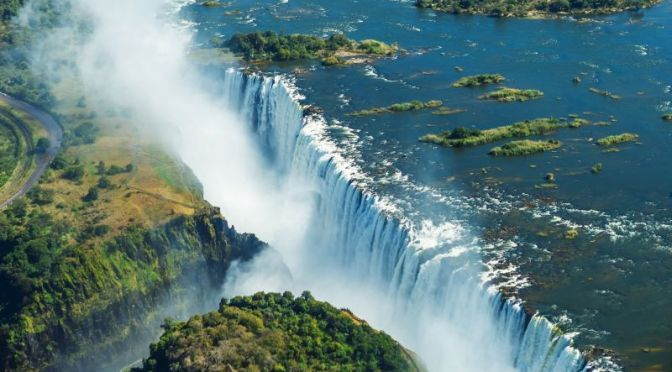 Travel Video: 'Victoria Falls On The Zambezi River, In Zambia And Zimbabwe'