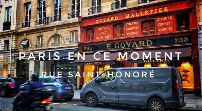 Paris Walking Tour Video: 'Rue Saint-Honoré' (2020)