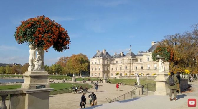 Paris Walking Tour Video: 'Jardin Du Luxembourg'