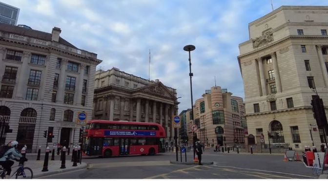 Travel: A Thanksgiving Walk Through The Old 'City Of London' (Video)