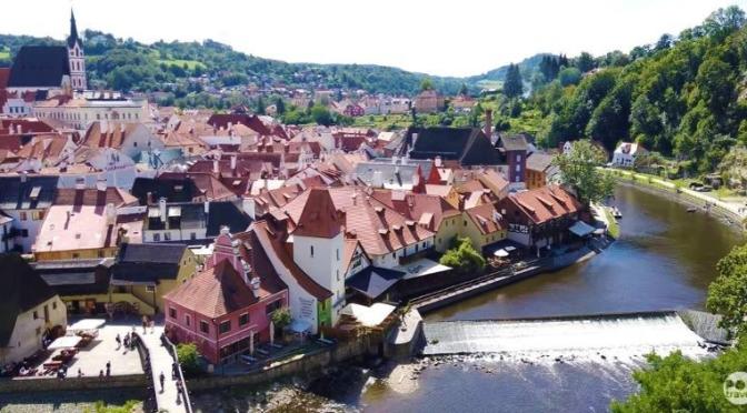 Walking Tours: 'Český Krumlov, Czech Republic'