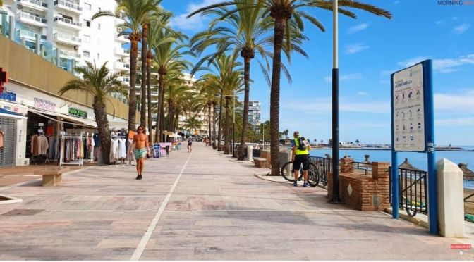 Walking Tours: Marbella, Costa Del Sol, Spain (Video)