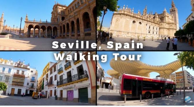 Walking Tours: 'Seville' In Andalusia, Southern Spain