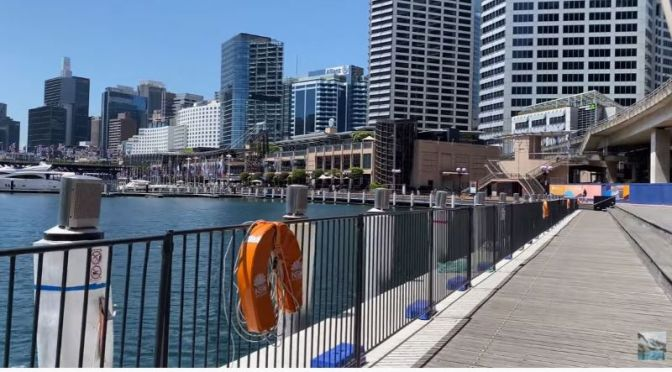Spring Walking Tours: 'Darling Harbour' In Sydney, Australia (Video)