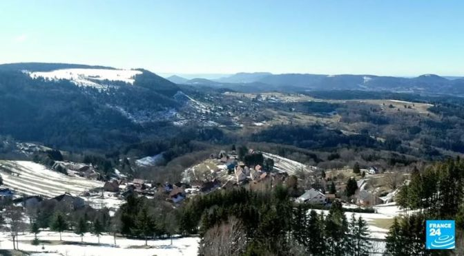 Travel & Culture: 'Winter In Champ Du Feu', Vosges Mountains, France (Video)
