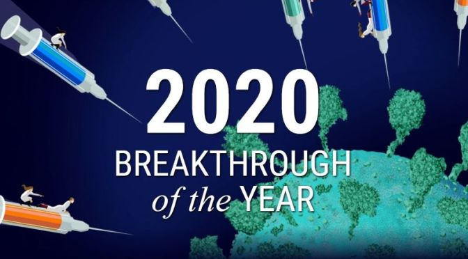 Science: 'Breakthrough Of The Year In 2020' (Video)