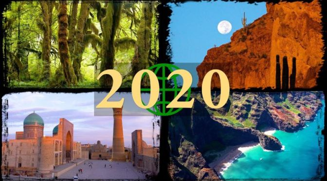 World Travel: 'Amazing Places' In 2020 (Video)