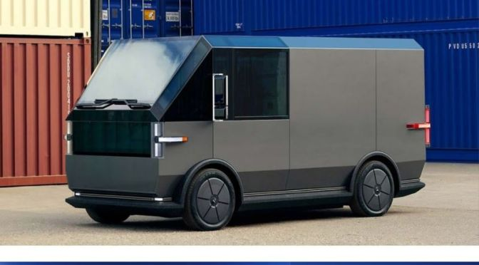 Technology: '2021 CAnoo VAN' – The Most Versatile Electric Delivery Vehicle