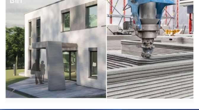 Future Of HomeBuilding: '3D-Printed HOmes' Fully Certified In Germany