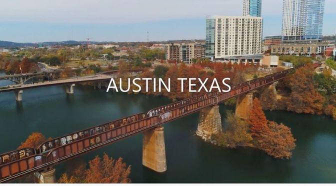 Aerial Travel: 'Austin – Texas' (4K Video)