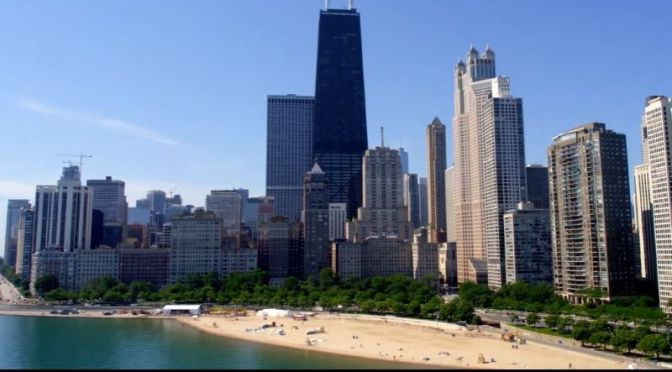 Aerial Travel: 'Chicago Skyline' – Illinois (Video)