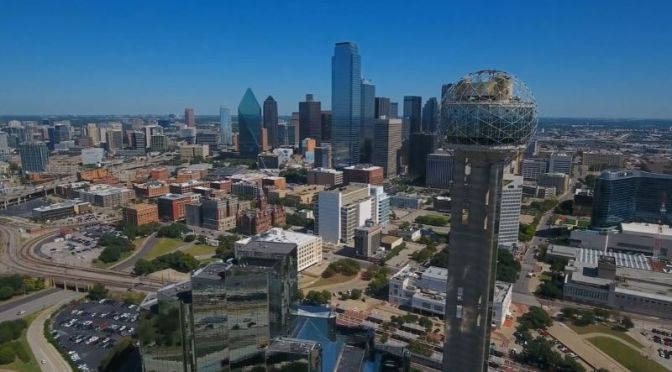 Aerial Travel Video: 'Dallas – Texas'