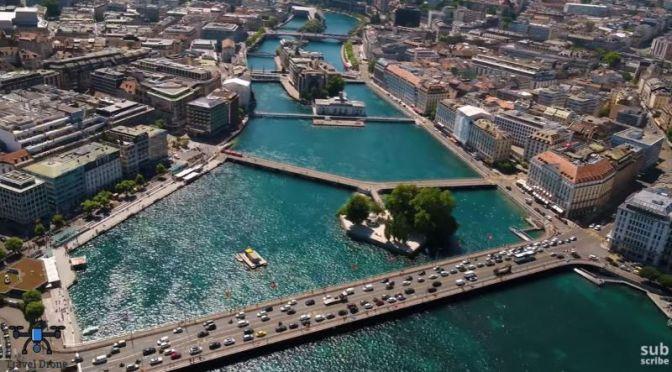 Aerial Travel: 'Geneva – Switzerland' (Video)