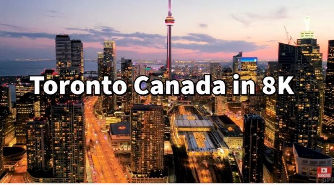 Aerial Travel: 'Toronto' In Ontario, Canada (Video)