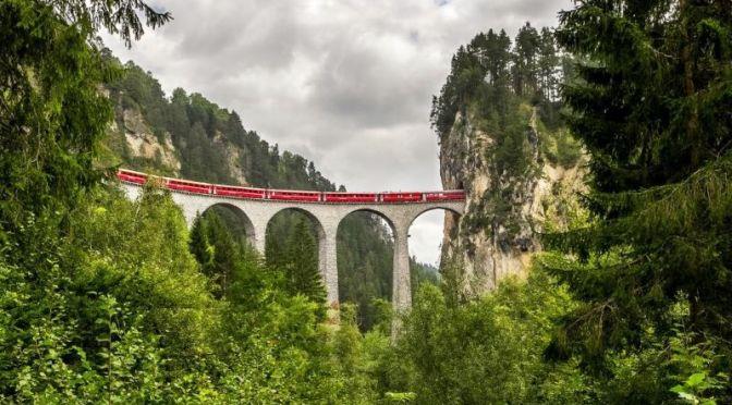 Train Travel: 'Chur To St. Moritz, Switzerland' On Albula Railway (Video)