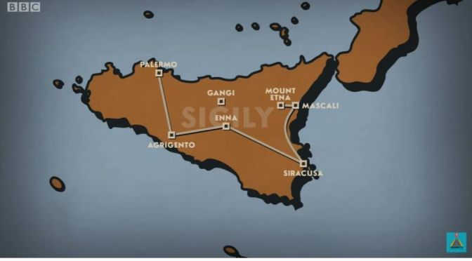 Great Train Journeys: 'Palermo To Mount Etna' In Sicily, Italy (BBC Video)