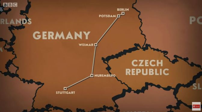 Train Journeys: 'Berlin to Stuttgart' (BBC Video)