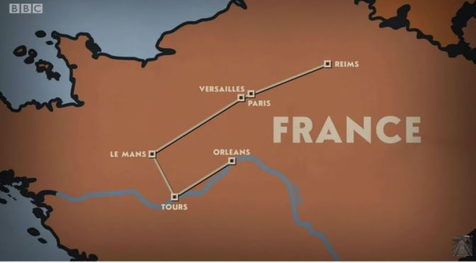 Train Journeys: 'Orleans To Reims', France (Video)