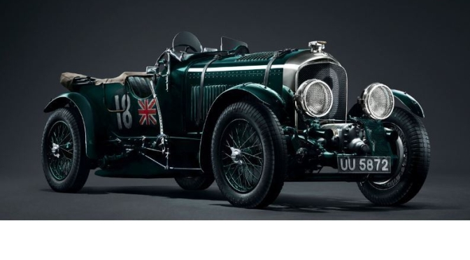 Classic Cars: The '1929 Bentley Blower' (Video)