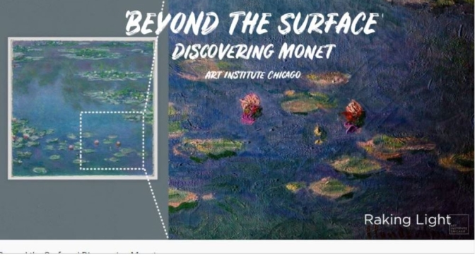 "Art: 'Beyond The Surface' – Monet's ""Changing Light"""