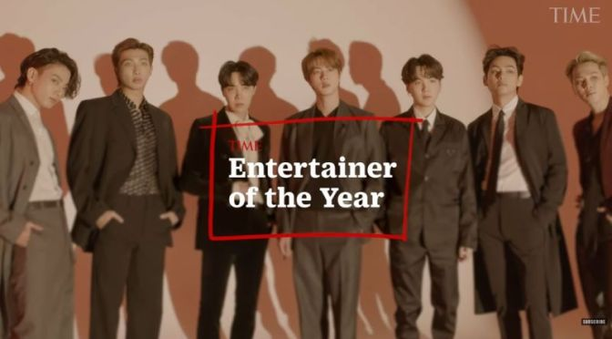 "Music: South Korean Boy Band ""BTS"" – Time Magazine 'Entertainer Of The Year'"