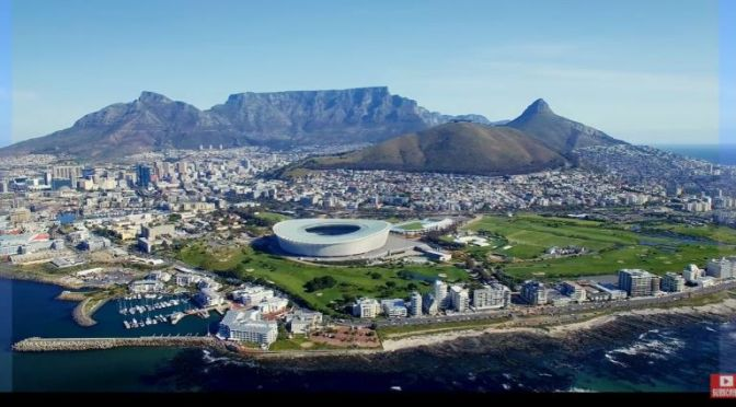 Aerial Travel: 'Cape Town – South Africa' (Video)