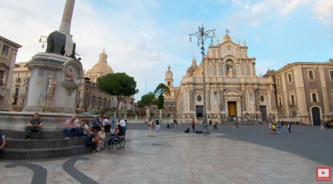 Walking Tours: 'Catania' – In Sicily,  Italy (Video)