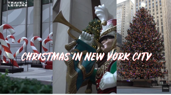 Travel: Christmas Tour Of Midtown Manhattan -2020