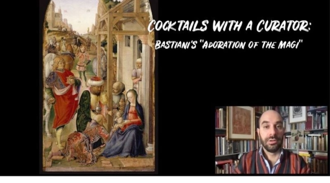 "Cocktails With A Curator: Bastiani's ""Adoration of the Magi"" (The Frick Video)"