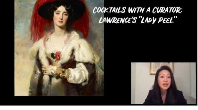 Cocktails With A Curator: Lawrence's 'Lady Peel'